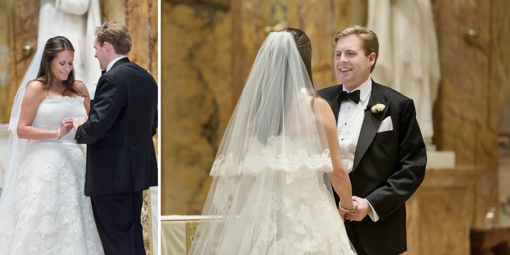 st ignatius loyola church wedding, candid photography, best ny wedding photographer