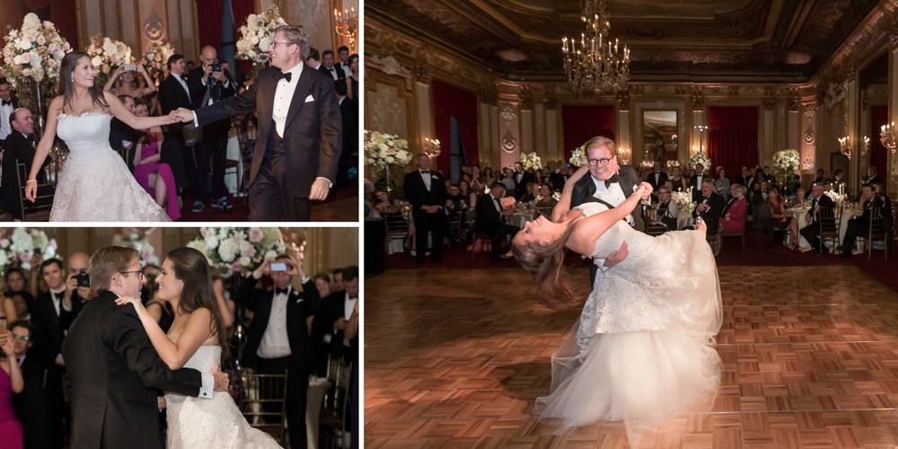 metropolitan club wedding, ny wedding, wedding entrance, first dance, candid ny photography