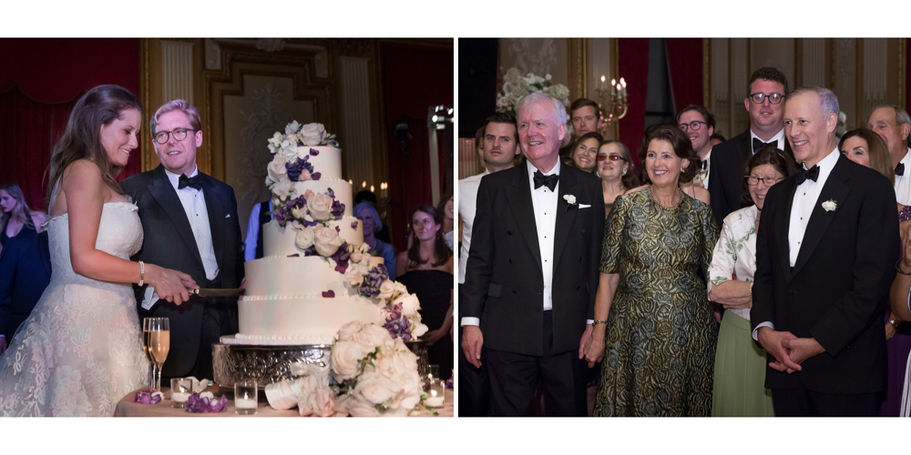 metropolitan club wedding, ny wedding, cake cutting, luxury wedding, candid ny photography