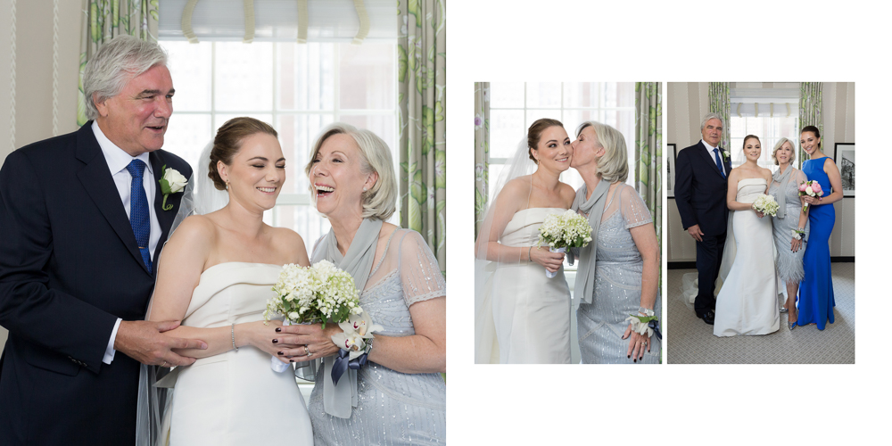carolina herrera, ny wedding, yale club wedding, family portraits, candid portraits, lily