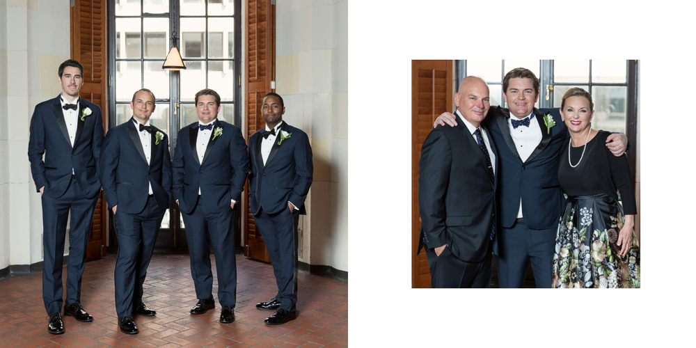 black tie, classic wedding, ny wedding, yale club wedding, groom portrait, yale rooms