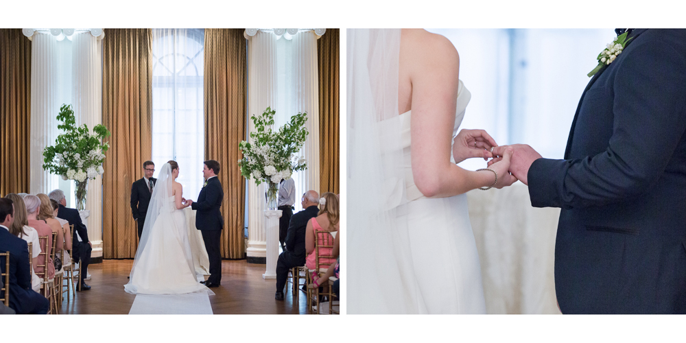 yale club, candid wedding, ny wedding, yale club wedding, ceremony, the lounge