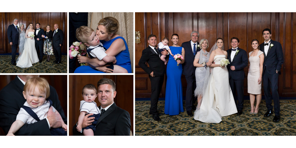 yale club, candid wedding, ny wedding, yale club wedding, fun family portraits